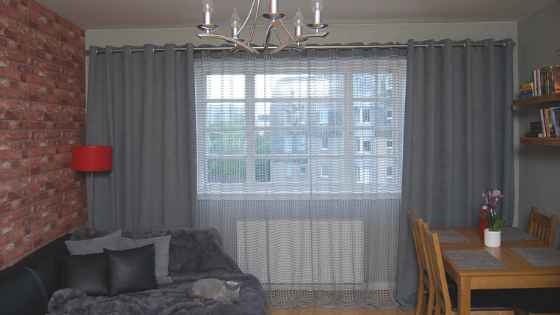Windows without voile curtains- why to include net curtain in your window treatment?