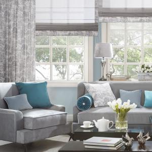roman blinds / curtains